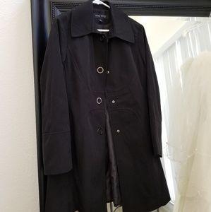 Classic Anne Klein coat, L